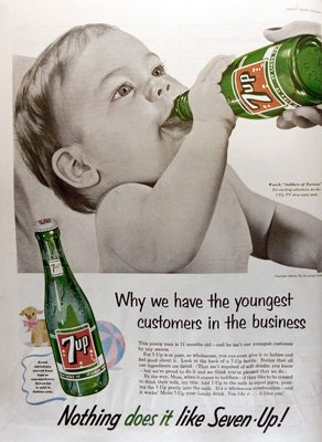 "7-Up ""Advertising Hall of Shame"" ad"