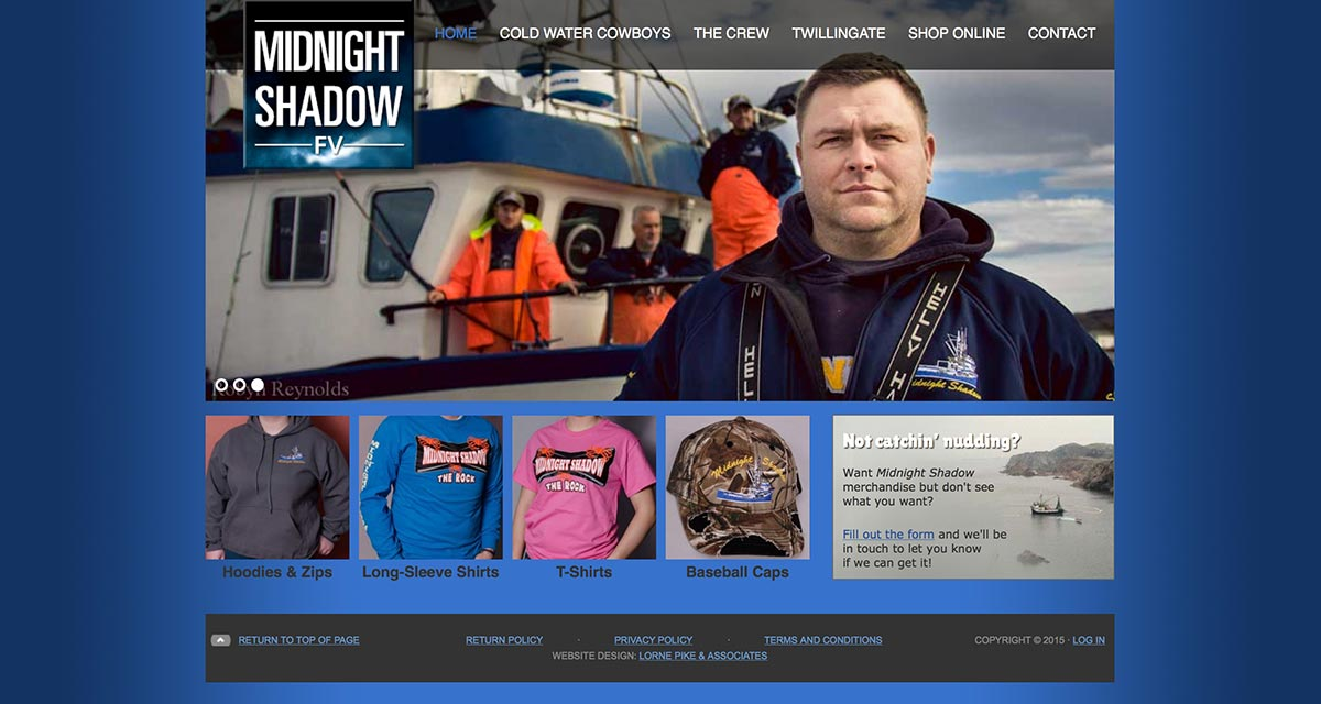 Website Design in St. Johns - Midnight Shadow